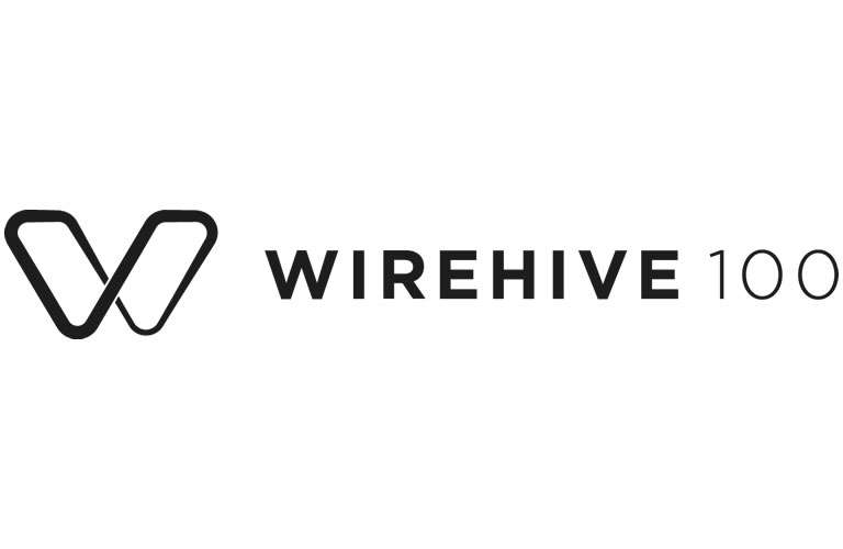 Wirehive 100 Awards Badge