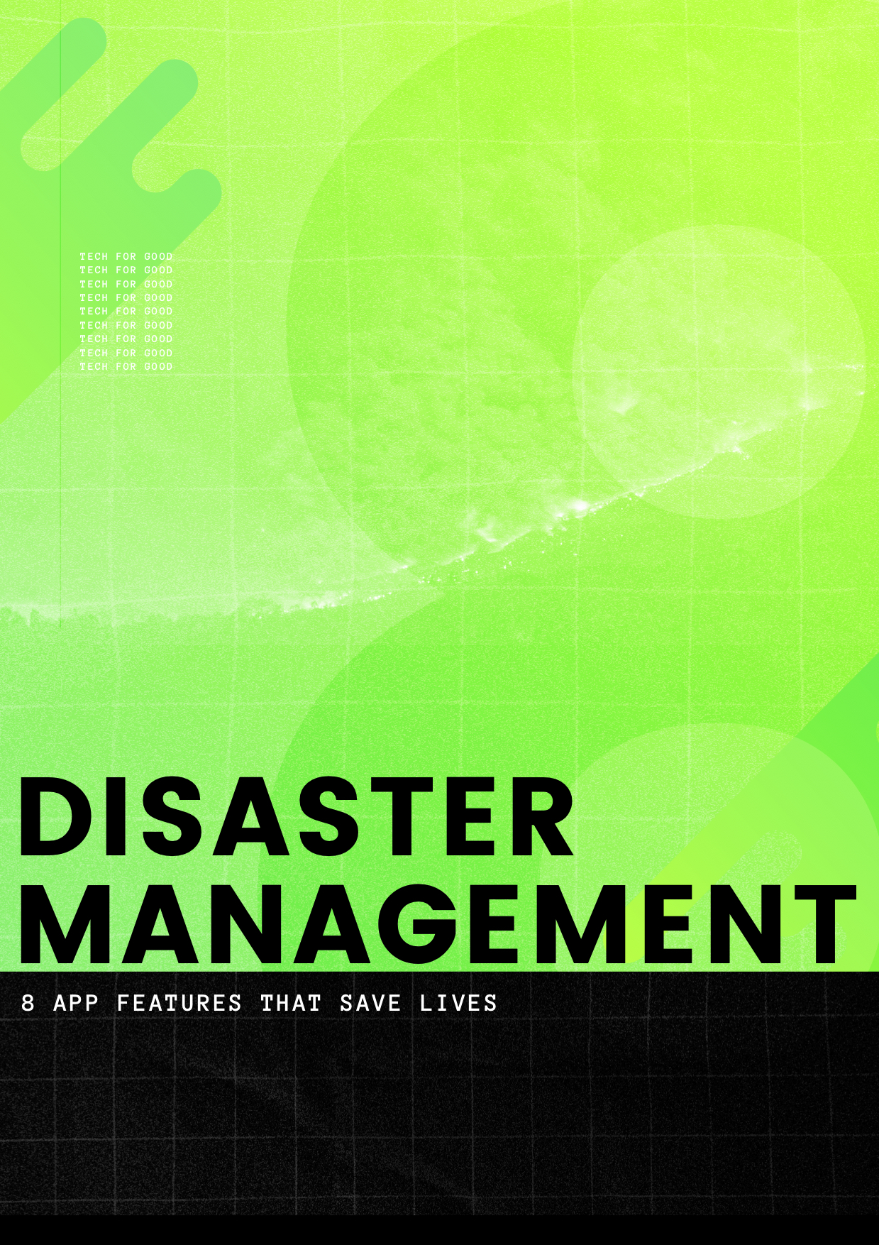 Disaster Management App Features
