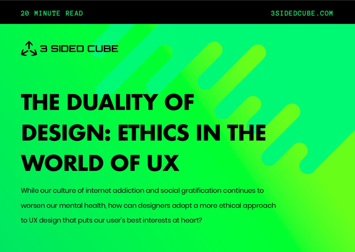 Design Ethics Cover